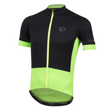 Pearl Izumi Men's Elite Escape Cycling Jersey- Black/Screaming Green- Sz 2Xl