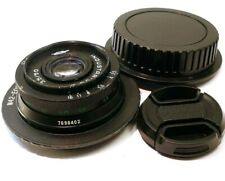 Industar 50mm f3.5 M42 mount lens manual focus adapted Canon EOS EF cameras T6i