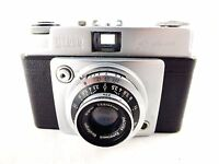 Ilford Sportsman Style 2 Camera with Dacora Dignar f3.5/45mm Lens + Leather Case