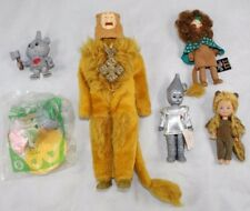 Vintage Wizard of Oz Action Figure Lot Toy Time Cowardly Lion Madame Alexr Dolls