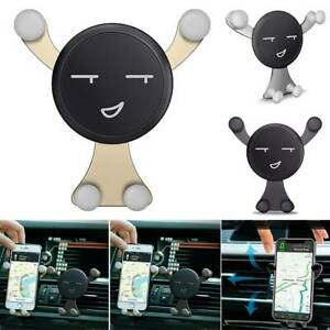 Black Car Mobile Phone Holder Air Vent Mount Stand Cradle Cell Phone Support NEW