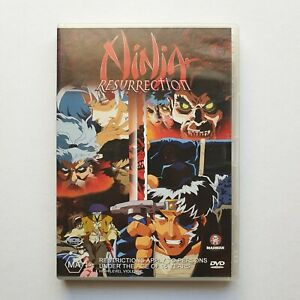Ninja Resurrection DVD (1998) Region 4 Very Good Condition + FREE SHIPPING