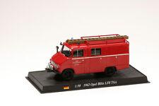 Coche Bomberos 1962 OPEL BLITZ LF8 TSA 1:50 Delprado Diecast -Feuerwehr CBO041