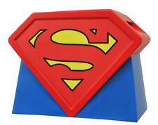 """SUPERMAN - Animated Series Logo 12"""" Ceramic Cookie Jar (Diamond Select) #NEW"""