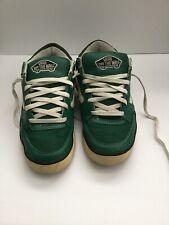 1978 Vtg Vans Green Check Skateboarding Oldschool Shoes / Sneakers Mens 12