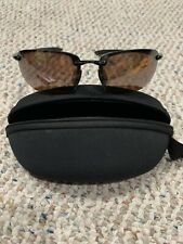 maui jim ho'okipa MJ-407-02 Sports Polarized Rimless sunglasses Authentic