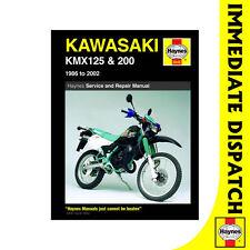 [3046] Kawasaki KMX125 KMX200 NS125 1986-2002 Haynes Workshop Manual