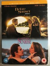 Ethan Hawke Julie Delpy BEFORE SUNRISE / before SUNSET ~ 2-Disc UK DVD Box Set