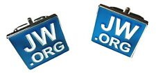 JW.ORG  CUFF-LINKS SET SQUARE WITH GIFT BOX
