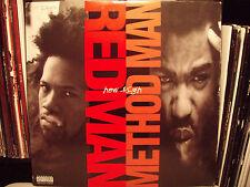 "METHOD MAN & REDMAN - HOW HIGH (+REMIX) (12"")  1995!!!  RARE!!!  ERICK SERMON!!!"