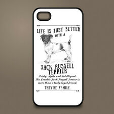 Jack Russell Terrier dog phone case cover Apple iPhone Samsung ~ Personalised