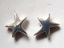 Star in Motion Moving Star Stud Earrings 925 Sterling Silver Post Corona Sun