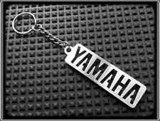 KEYRING for YAMAHA R1 R6 RD FZR XJR FZ - STAINLESS STEEL - HAND MADE - CHAIN FOB