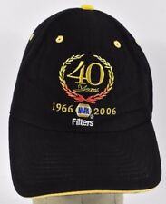 Black NAPA Auto Parts 40 Years Embroidered Baseball hat cap adjustable Strap