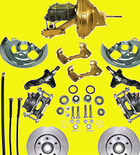Gm Power Disc Brake Kit  A & F Body Brakes Front f x a Body Basic Kit Spindle
