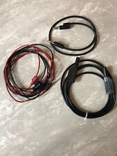 4 Test Cables- Banana Plug Pomona MC- 1000V 600V Red Black Female/Male