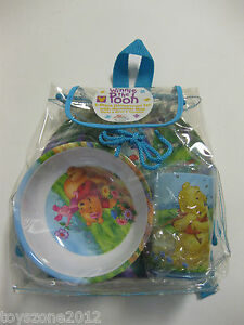 Winnie the Pooh 3-Piece Dinnerware Set BRAND NEW