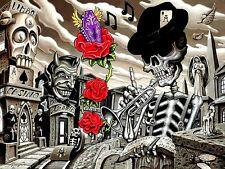 "3.25"" DIA DE LOS MUERTOS, DAY OF THE DEAD Sticker / Decal Zombie Gothic Death 2"