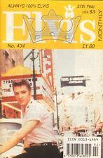 ELVIS MONTHLY No. 434 - 1996 (UK FANCLUB MAGAZINE ELVIS PRESLEY)