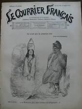 LE COURRIER FRANCAIS 1901 N 33 DESSIN DE A.WILLETTE