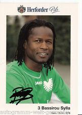 Bassirou Sylla Preußen Münster 2002-03 TOP AK +A41503