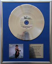 """Tina Turner Private Dancer CD Cover + 12 """" goldene /platin Schallplatte"""