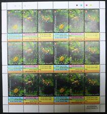 Cook Island 2014 Mi. 1990-92 kpl. Bogen 6 Satz ** Insekten Insects Bees 312,- €