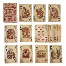 Alice In Wonderland Playing Cards Party Props Decoration Theme Full Set