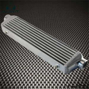 """Universal Bar&Plate Front Mount Intercooler 550*140*64 FMIC 2.5"""" In/Outlet"""