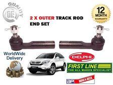 POUR HONDA CRV 2.0 2.2 CTDI DTEC 06-12 2x BIELLETTE DE DIRECTION EXTÉRIEUR RACK