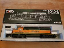 37-2902 Kato HO Scale SD40-2 Snoot Nose BNSF Locomotive #6340 NEW IN BOX