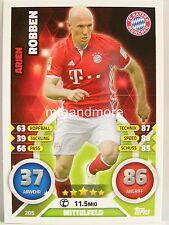 Match Attax 2016/17 Bundesliga - #285 Arjen Robben - Bayern München