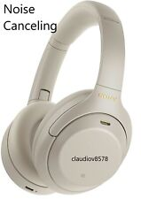 New listing Sony Wh-1000Xm4 Over The Eat Silver wireless noise-canceling headphones Fast Shi