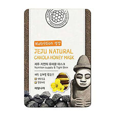Welcos Jeju Natural Canola Honey Nutrition tight skin Mask 1pc korea Cosmetic
