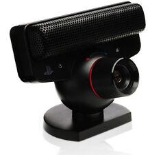 Genuine Sony Playstation 3 eyetoy telecamera Nero ps3 ufficiale nuovo giocattolo degli occhi