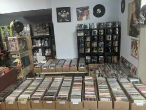 100 Used ASSORTED CDs COMPLETE W/ cases Bulk MISC CDs Used CD Lot Wholesale CDs