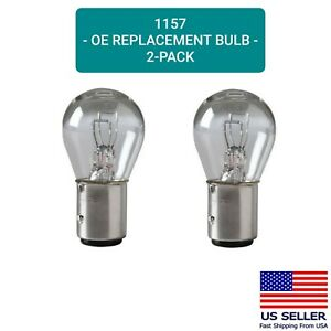 Parking Light Bulb 2 pack OE Replacement Fits Listed Chevrolet Vehicles 1157