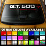 GT500 Windshield Banner Vinyl Decal Sticker for Ford Shelby Mustang Cobra