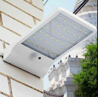 48/60 LED Solar Power Motion Sensor Garden Street Lamp Outdoor Waterproof Light