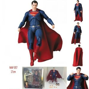Mafex 057 Comics Justice League Superman PVC Action Figure Model Toy in box Gift