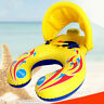 Inflatable Mother Baby Swim Ring Float Raft Kids Seat Swimming Pool Summer Sport