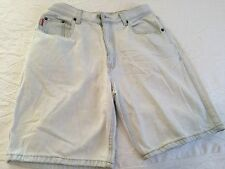 Bugle Boy Jeans Vintage 80s Denim Shorts Size 32 Naturally Distressed by Wear