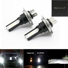 H7 CSP LED Headlight High Low Beam Bulbs Kit 6000K White 55W Super Bright Lamp