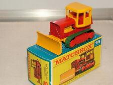 Matchbox regular wheels No 16 Case bulldozer VNMB