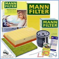 MANN-FILTER KIT FILTRE À HUILE AIR HABITACLE DACIA DUSTER 2010- 1.6 16V