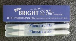 AsaVea Teeth Whitening Pen (2 Pens) Effective Painless Travel Friendly SEALED