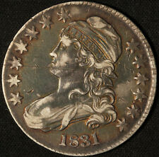 1831 Capped Bust Half Dollar - Free Shipping Usa -2