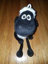 SHAUN THE SHEEP NICI PLUSH BLACK SHEEP FUR NICI GIFT COLLECTIBLE
