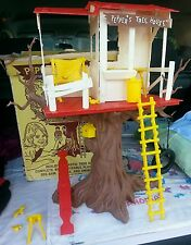 1965 Vintage IDEAL Toy Pepper's Pepper TREE HOUSE & Box w Extras TAMMY FAMILY