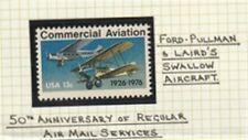 US 1976  50th Ann REG AIR MAIL SERVICE 13 CENT AIR MAIL COMMEMORATIVE STAMP MNH